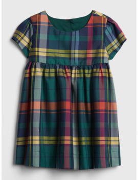 Baby Plaid Dress by Gap