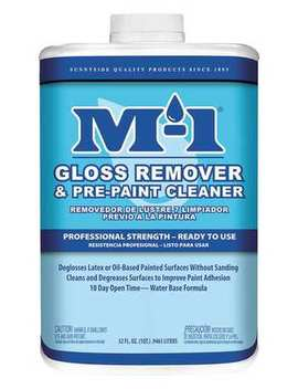 M 1 62232 M Pre Paint Cleaner Paint Deglosser And Pre Paint Cleaner, 1 Qt. by M 1