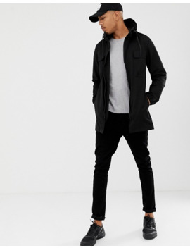 D Struct Tall Parka Jacket by Asos