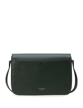 Nicola Medium Twist Lock Leather Shoulder Bag by Kate Spade New York