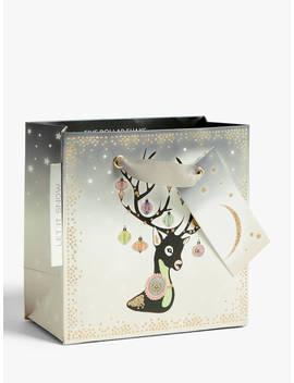 Five Dollar Shake Reindeer Gift Bag, Mini by Five Dollar Shake