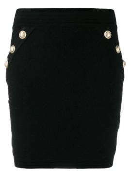 Knit Mini Skirt by Balmain