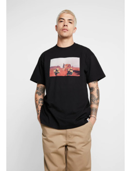 Matt Martin Flags T Shirt   Print T Shirt by Carhartt Wip