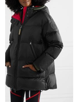 Harper D Hooded Quilted Ripstop Down Ski Jacket by Bogner