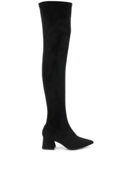 Over The Knee Heeled Boots by Pollini