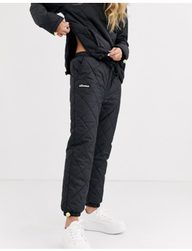 Ellesse Tracksuit Bottoms In Quilting Co Ord by Ellesse