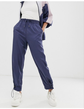 Native Youth Tracksuit Bottoms With Toggles Co Ord by Native Youth