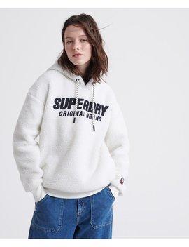 Kayla Sherpa Hood by Superdry