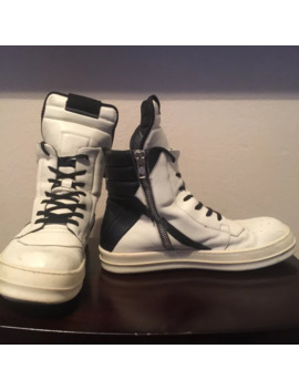 Geobasket White/Black by Rick Owens  ×