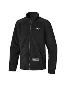 Alpha Boys' Sherpa Jacket Jr by Puma