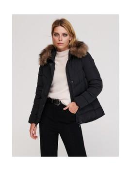 Jachetă Cu Detalii Din Blană Artificială by Reserved