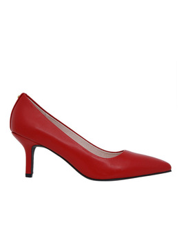 Elizabeth Red Leather Heel by Basque