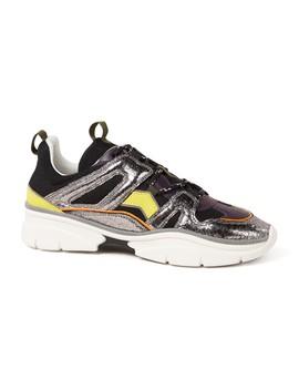 Kindsey Sneaker Met Kalfsleren Details by Isabel Marant