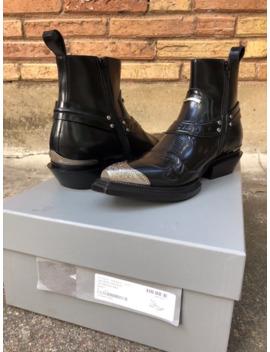 Balenciaga Santiag Harness Boots by Balenciaga  ×