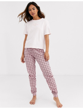 New Look Not My Problem Pj Jogger Set In Multi by New Look
