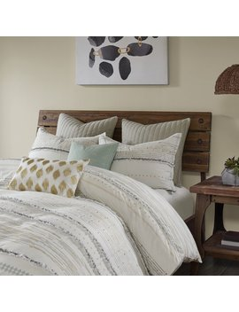 Leffel Cotton Printed Comforter Set by Bungalow Rose