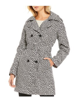 Kate Spade New York Leopard Print Trench Coat by Kate Spade New York