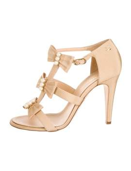 Pearl Cc Sandals by Chanel