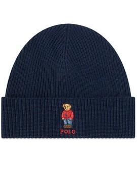 Polo Ralph Lauren Bear Embroidered Beanie by Polo Ralph Lauren