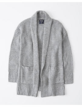 Shawl Open Front Cardigan by Abercrombie & Fitch