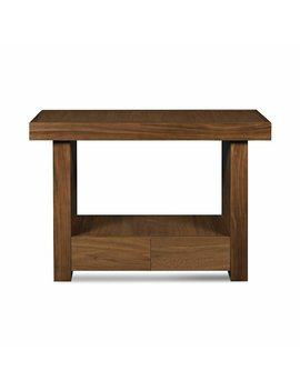 Acton Walnut Console Table by Ophelia & Co.