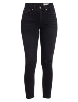 Nina High Rise Ankle Skinny Jeans by Rag & Bone
