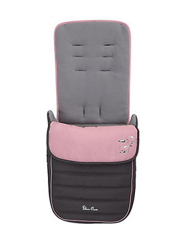 Silver Cross Popstar Footmuff   Pink Daisies *Exclusive To Mothercare* by Mothercare