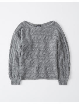 Cable Knit Dolman Sweater by Abercrombie & Fitch