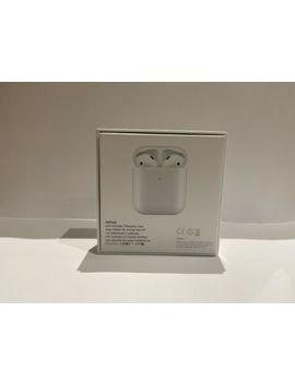 Air Pods 2nd Generation With Charging Case   White by Ebay Seller