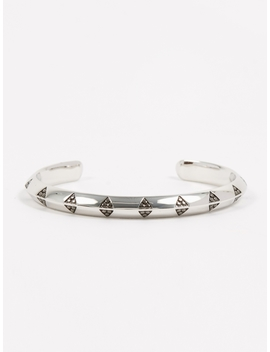 Viking Cuff   Sterling Silver by Tom Wood