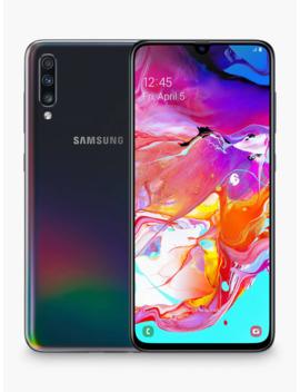 """Samsung Galaxy A70 Smartphone, Android, 6.7"""", 4 G Lte, Sim Free, 6 Gb Ram, 128 Gb, Black by Samsung"""