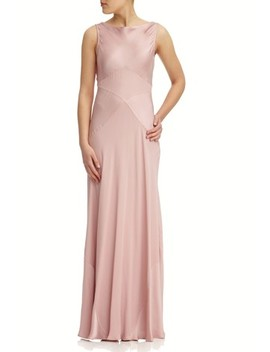Ghost London Pink Taylor Boudoir Satin Maxi Dress by Next