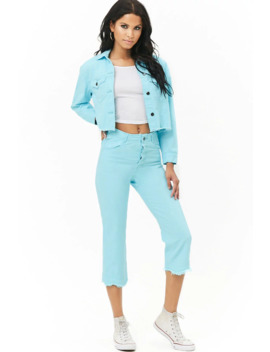 The Style Club Cropped Jeans by Forever 21