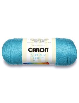 Caron Simply Soft Acrylic Brites Blue Mint Yarn, 1 Each by Caron