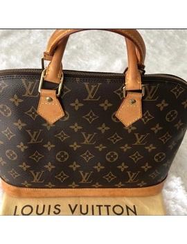 ✨Sale✨Lv Vintage Alma Pm Mono Canvas Handbag by Louis Vuitton