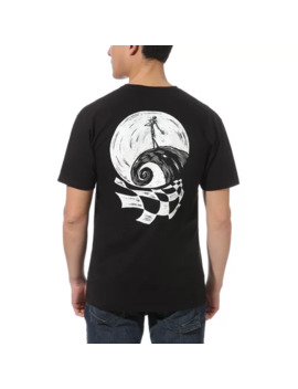 Disney X Vans Sketchy Jack T Shirt by Vans