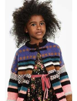 Jacquard Knit Cardigan by Zara