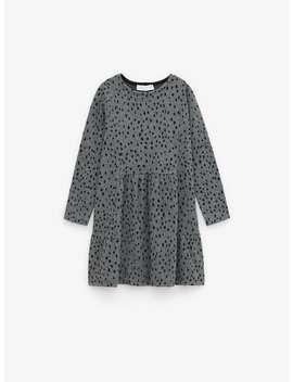 Soft Spotted Dress by Zara