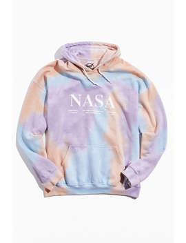 Nasa Tie Dye Hoodie Sweatshirt  by Urban Outfitters