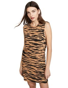 Tiger Muscle Tank Dress by Lna