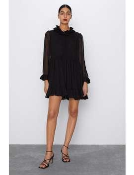 Polka Dot Mini Dress by Zara