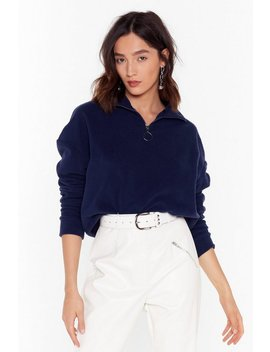 Shake Your Zips Cropped Sweater by Nasty Gal