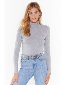 Such A High Roll Turtleneck Sweater by Nasty Gal
