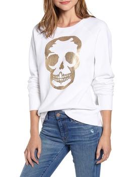Metallic Skull Sweatshirt by Zadig & Voltaire