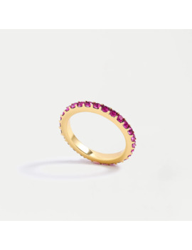 Gold Pavé Stacking Ring by J.Crew