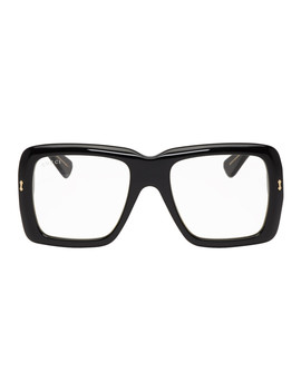Black Ultra Bold Glasses by Gucci