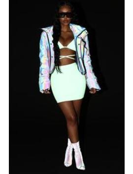 Let's Reflect On Us Jacket   Charcoal by Fashion Nova