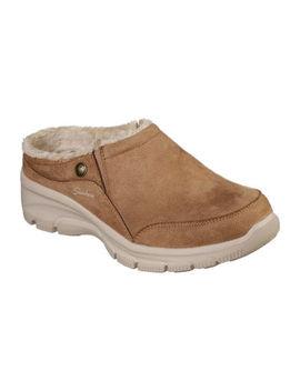 Skechers Womens Easy Going Latte Slip On Shoe by Skechers