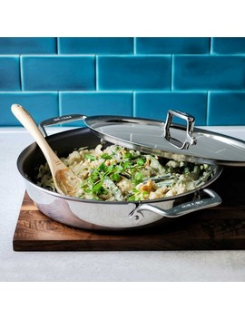 All Clad D5 Stainless Steel Nonstick All In One Pan 4 Qt. by Williams   Sonoma