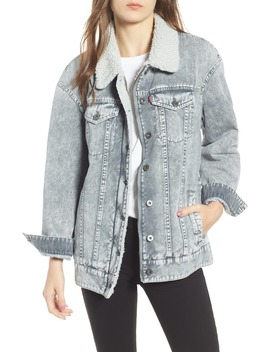 Levi's® Oversize Denim Trucker Jacket by Levi's